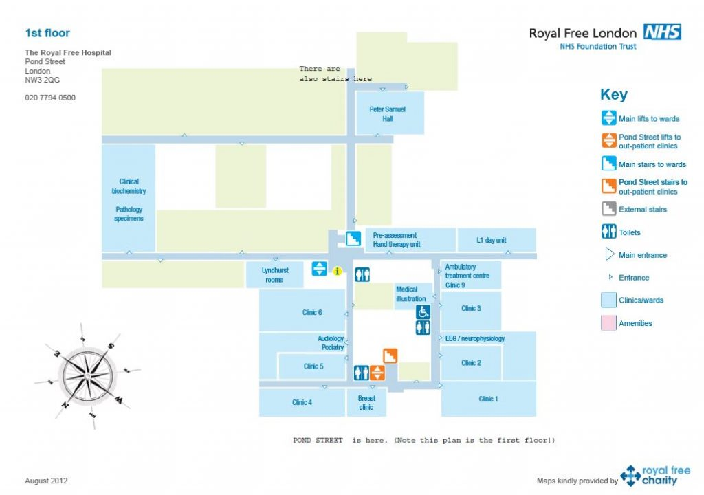 Plan of location of Peter Samuel Hall